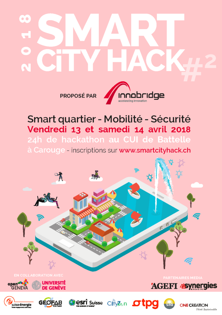 Céline Taïs, pi-lot, Smart City Hack 2018