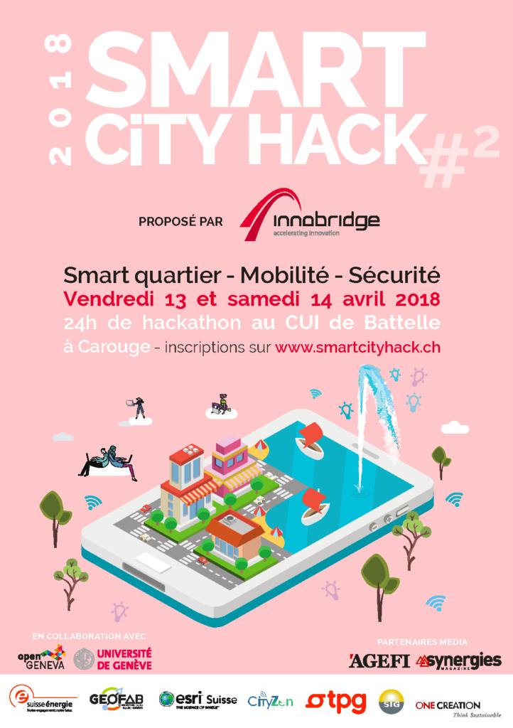 Céline Taïs, pi-lot cabinet de négociation à Genève, Smart City Hack 2018