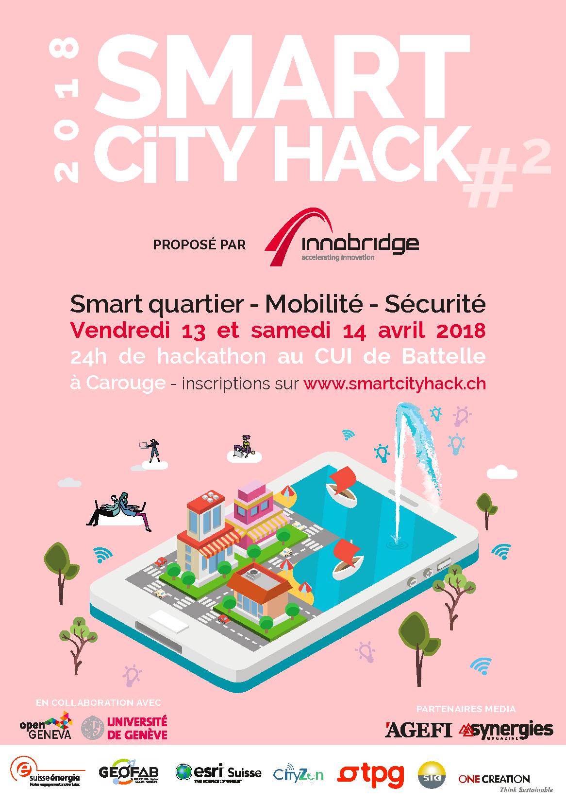 Céline Taïs, pi-lot, Smart City Hack 2018