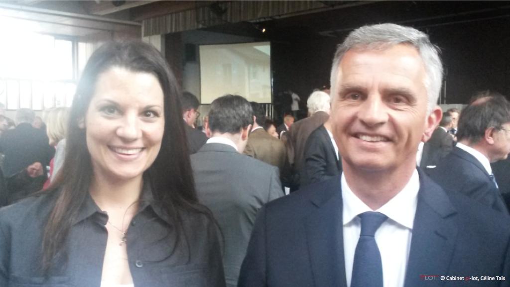 Celine Taïs et Didier Burkhalter