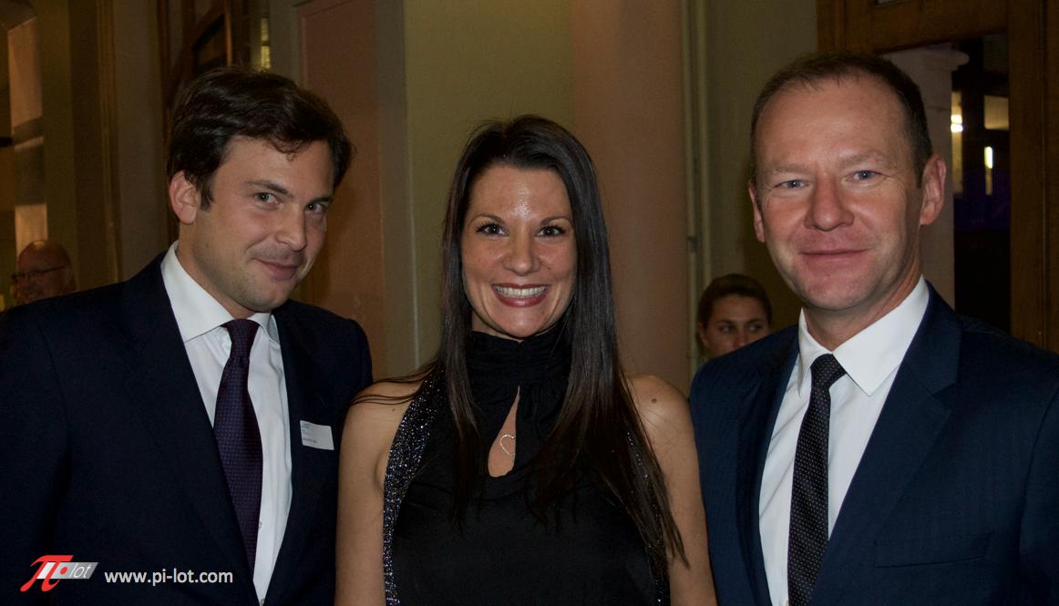 Guillame Barazzone, Céline Taïs et Yves Dal Busco