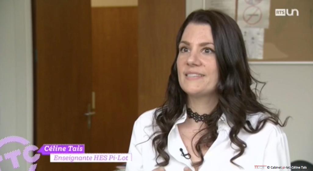 Céline Taïs sur RTS un