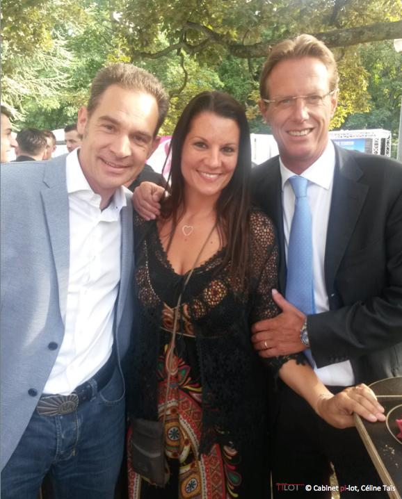 Hugues Hiltpold, Céline Tais et Christian Luscher