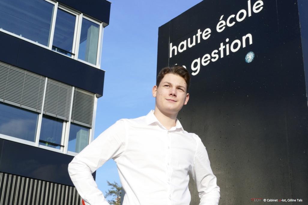 Hugo Taïs au Smartcity hack 2018 à la HEG de Genève