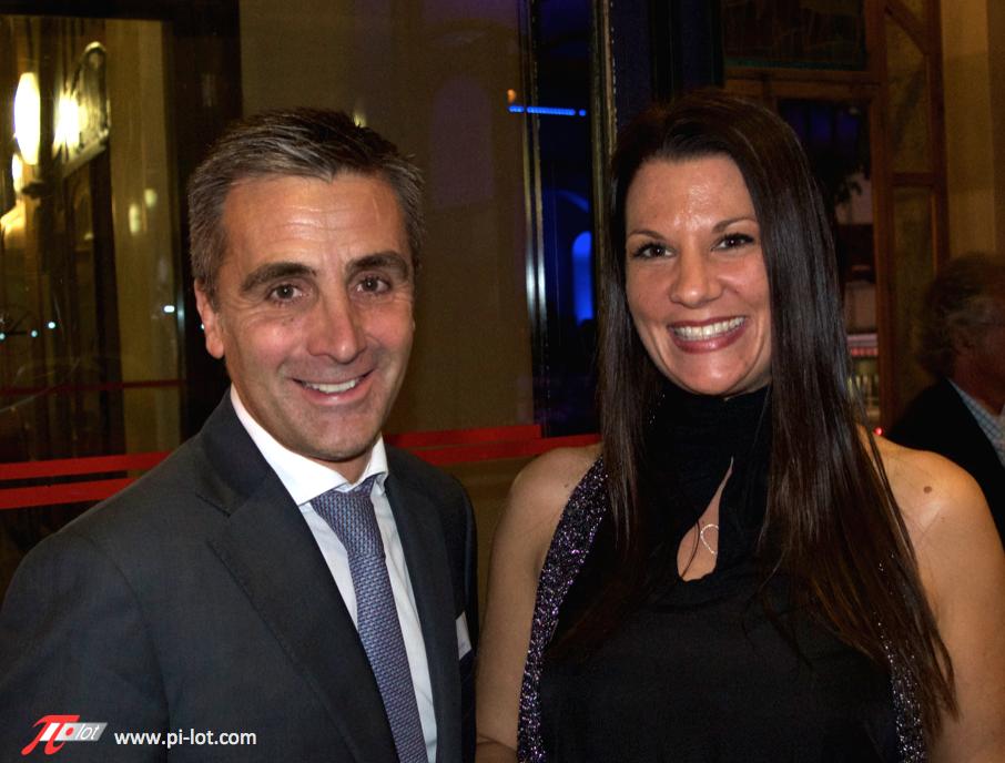 Francois Longchamp et Celine Tais