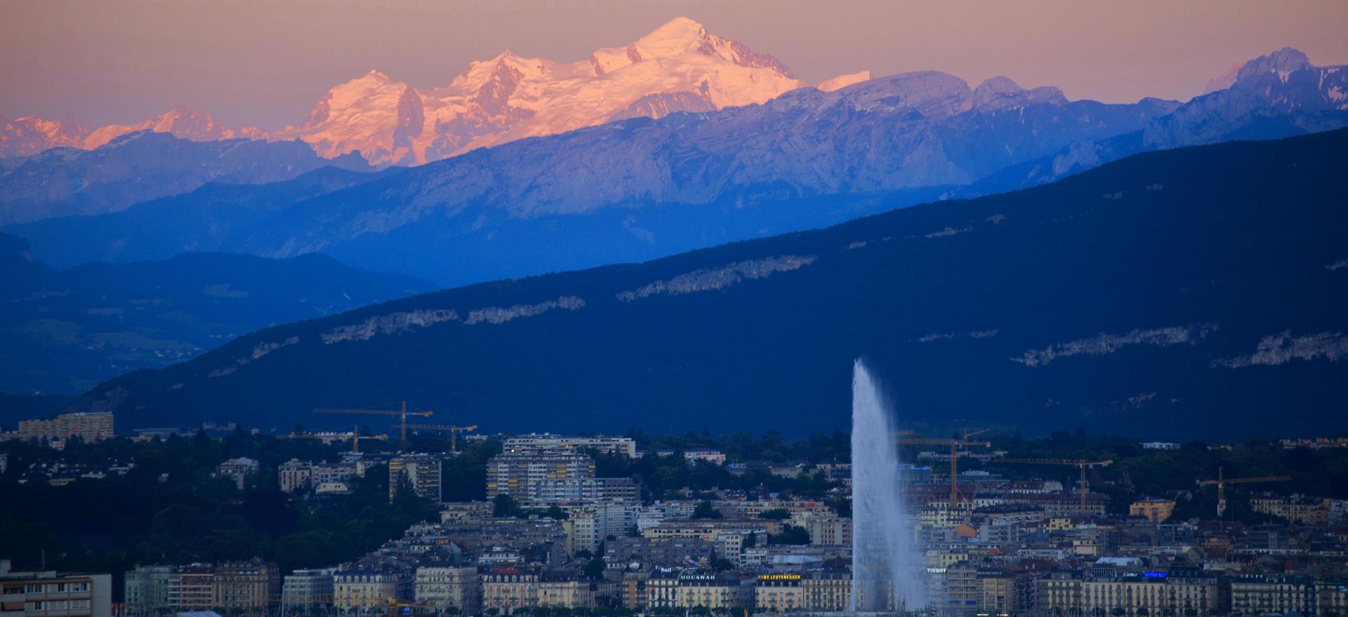 Céline Taïs, pi-lot cabinet de négociation à Genève, jet d'eau