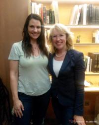 Celine Tais avec Jacqueline de Quattro