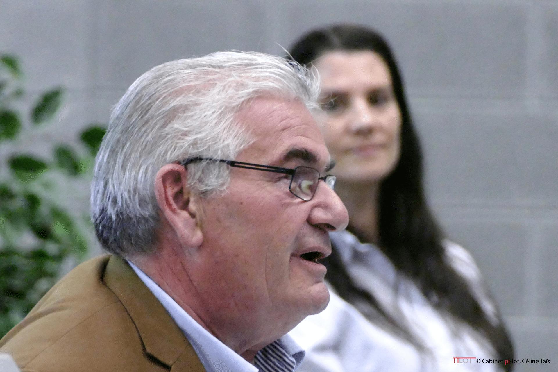 Michel Balestra et Céline Taïs