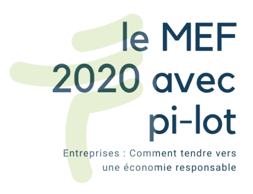 L'agence pi-lot et le MEF 2020